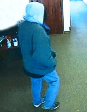 Edmond, Oklahoma Bank Robbery Suspect, Photo 2 of 4 (3/4/14)