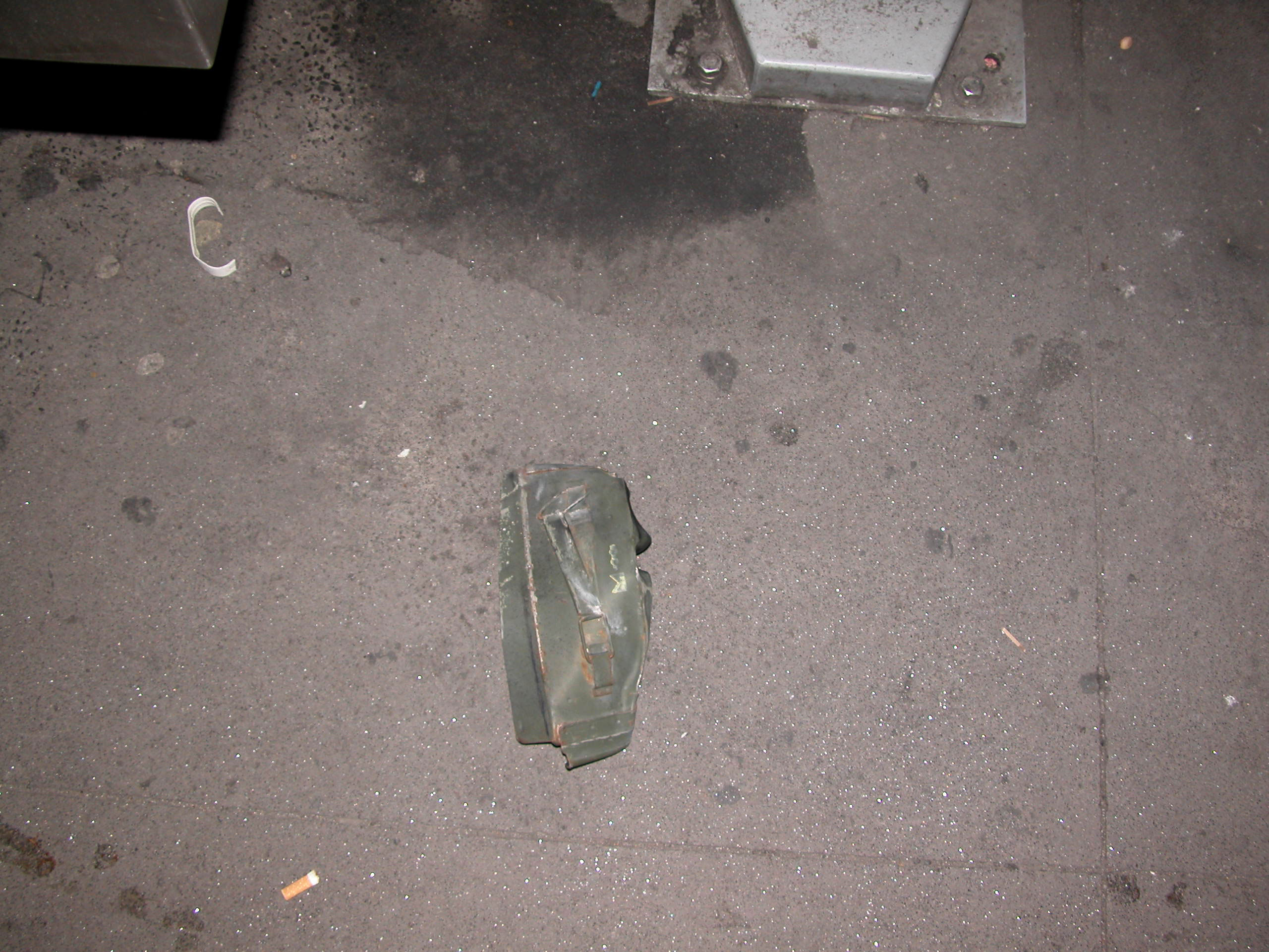 Ammunition Can Found in 2008 Times Square Bombing Attack