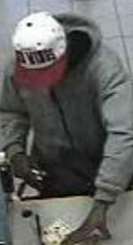 San Diego Bank Robbery Suspect, Photo 5 of 6 (1/10/13)