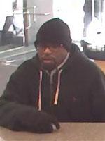 Philadelphia Bank Robbery Suspect, Photo 1 of 2 (2/17/13)