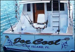 The 47-foot charter fishing boat Joe Cool