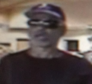 San Diego Bank Robbery Suspect, Photo 2 of 2 (9/6/13)