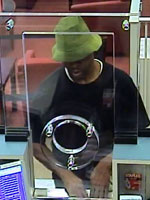 Pembroke Pines, Florida Bank Robbery Suspect, Photo 1 of 3 (8/28/13)