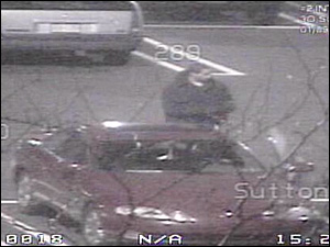 Jewelry Theft Ring Member Outside by Car