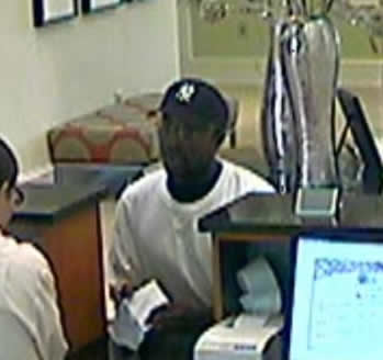 Suspect in Two North Alabama Bank Robberies, Photo 2 of 2 (8/9/12)