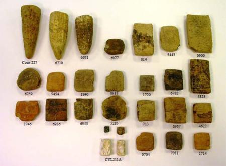 Recovered Iraqi Artifacts