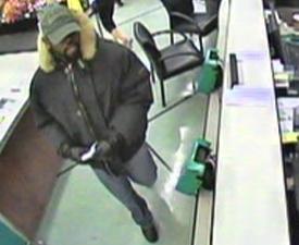 Bala Cynwyd, Pennsylvania Bank Robbery Suspect, Photo 2 of 3 (2/2/13)