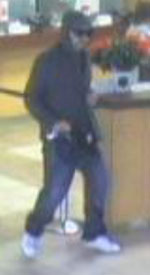 San Diego Bank Robbery Suspect, Photo 2 of 3 (12/28/12)