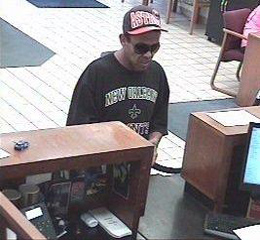 Oklahoma City Bank Robbery Suspect, Photo 2 of 2 (6/18/13)