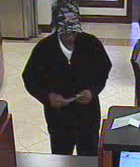 Norman, Oklahoma Bank Robbery Suspect, Photo 3 of 4 (2/1/13)