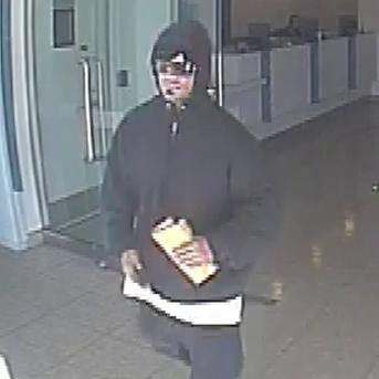 El Cajon, California Bank Robbery Suspect, Photo 1 of 3 (2/5/14)