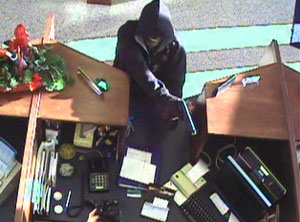 Pigeon Forge, Tennessee Bank Robbery Suspect, Photo 3 of 5 (12/14/10)