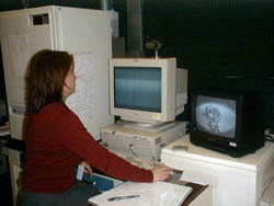 A photo of person in the Oak Ridge Institute of Science and Education research program