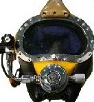 Diver Helmet Front