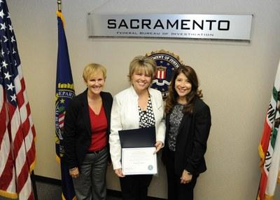 Sacramento 2013 Director's Community Leadership Award Presentation, Photo 2 of 3 (12/23/13)