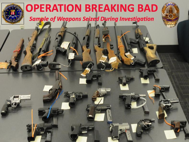 Los Angeles Operation Breaking Bad (5/22/13)