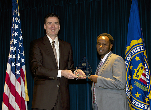 Director Comey and Ahmed Idlle