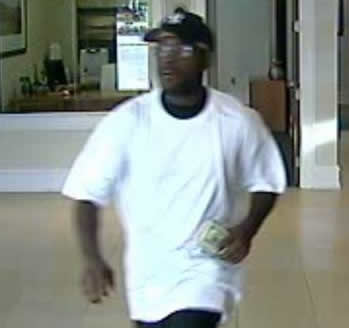 Suspect in Two North Alabama Bank Robberies, Photo 1 of 2 (8/9/12)