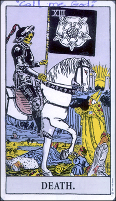 "Beltway Snipers: Tarot ""Death"" Card"