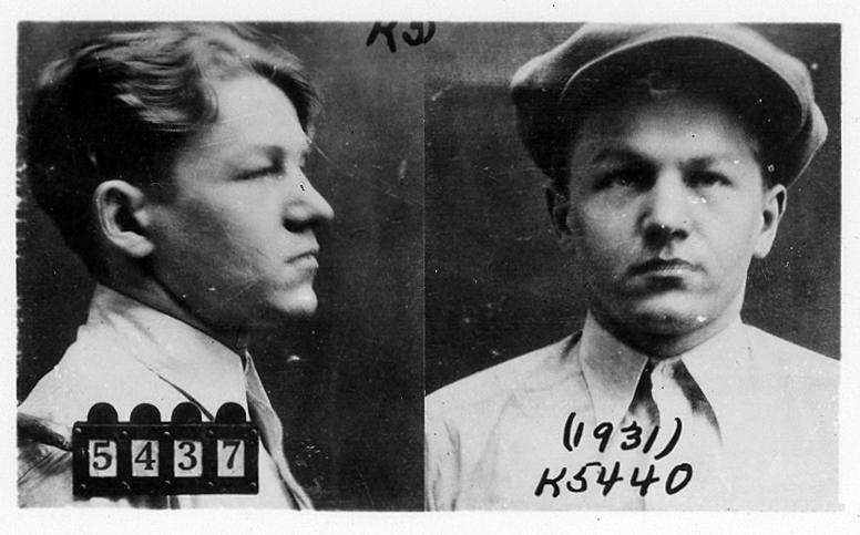 Little Bohemia Gunfight: Mug Shots of Baby Face Nelson