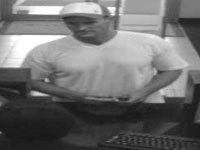 Lighthouse Point, Florida Bank Robbery Suspect, Photo 1 of 2 (8/12/13)