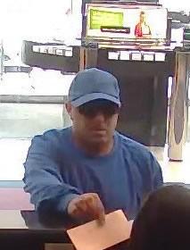 Philadelphia Bank Robbery Suspect, Photo 2 of 5 (6/6/13)