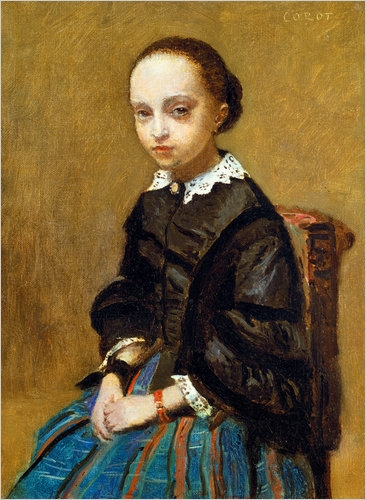 Portrait of a Girl by Corot (9/9/10)