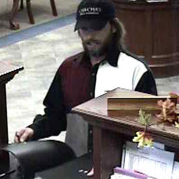 Oklahoma City Bank Robbery Suspect, Photo 2 of 3 (11/6/10)