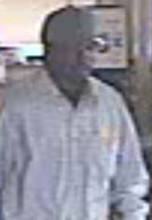 El Cajon, California Bank Robbery Suspect, Photo 1 of 7 (11/16/12)
