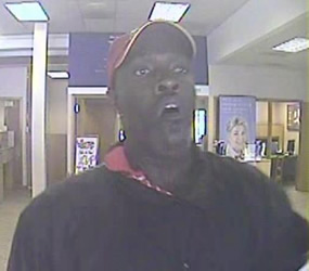 Denver/Aurora Bank Robbery Suspect, Photo 2 of 7 (9/26/12)