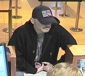 Albuquerque bank robbery suspect (1/29/13)