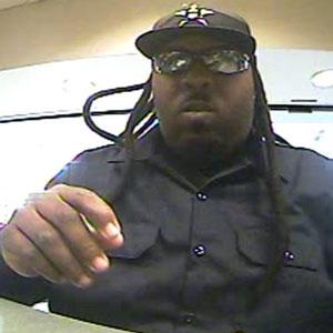 Houston Bank Robbery Suspect (12/23/13)