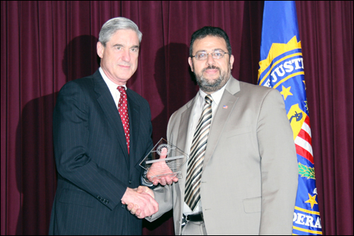 Director Mueller and Imam Yahya Hendi