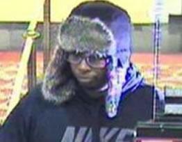 Washington, D.C. Area Bank Robbery Suspect, Photo 2 of 4 (4/17/14)