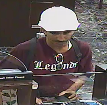 Miami Bank Robbery Suspect, Photo 1 of 3 (10/19/12)