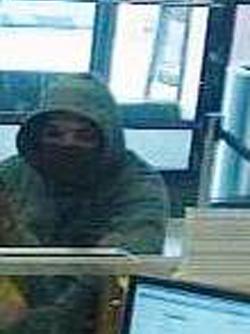 Philadelphia Bank Robbery Suspect (5/24/13)