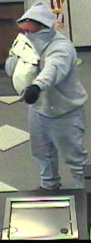 Philadelphia Bank Robbery Suspect, Photo 1 of 4 (4/5/13)