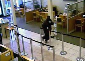 San Francisco Bank Robbery Suspect, Photo 9 of 9 (6/6/13)
