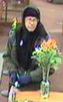 Denver Bank Robbery Suspect, Photo 1 of 2 (12/11/09)