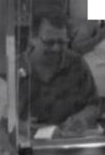 La Mesa, California Bank Robbery Suspect, Photo 2 of 4 (7/12/13)