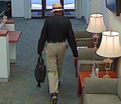 Atlanta Bank Robbery Suspect, Photo 7 of 7 (10/15/13)