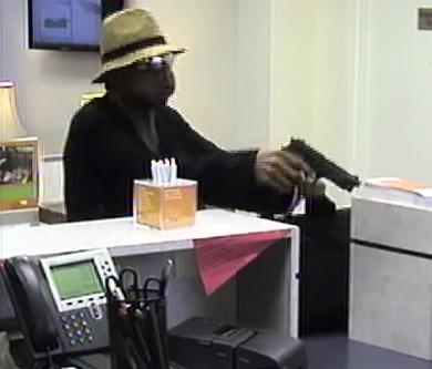 Atlanta Bank Robbery Suspect, Photo 3 of 7 (10/15/13)