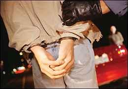 Man in handcufffs