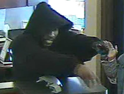 Oklahoma City Bank Robbery Suspect 1 (3/5/13)