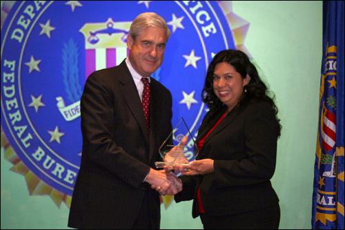 El-Paso field office Director's Community Leadership Award 2011