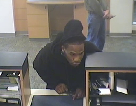 Powder Springs Bank Robbery Suspect, Photo 9 of 12 (10/28/13)