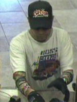San Diego Bank Robbery Suspect, Photo 1 of 4 (5/30/13)