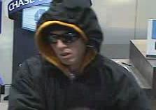 Denver Bank Robbery Suspect, Photo 2 of 3 (12/23/09)