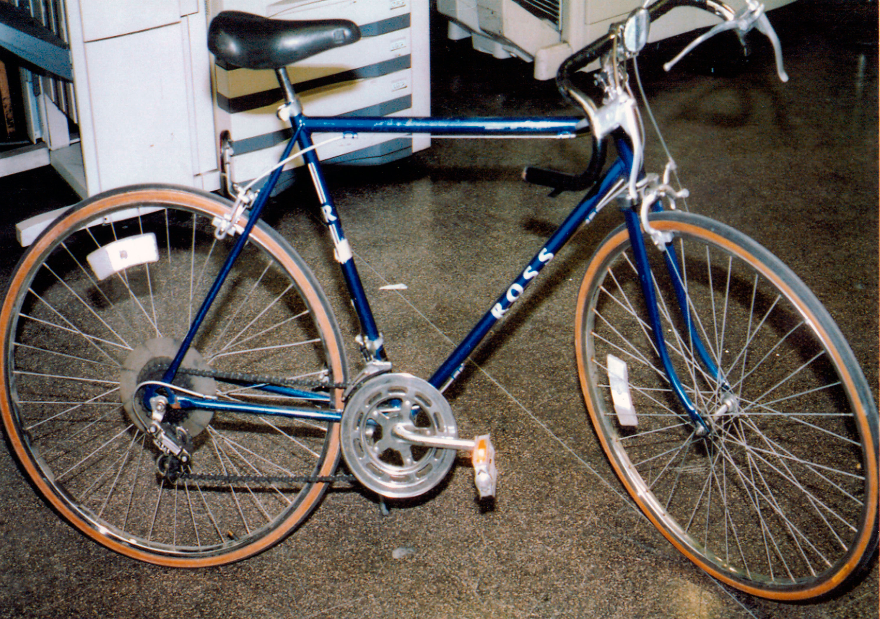 Bicycle Used by Suspect in 2008 Times Square Bombing Attack