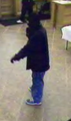 Rexburg, Idaho Bank Robbery Suspect, Photo 2 of 3 (11/7/12)